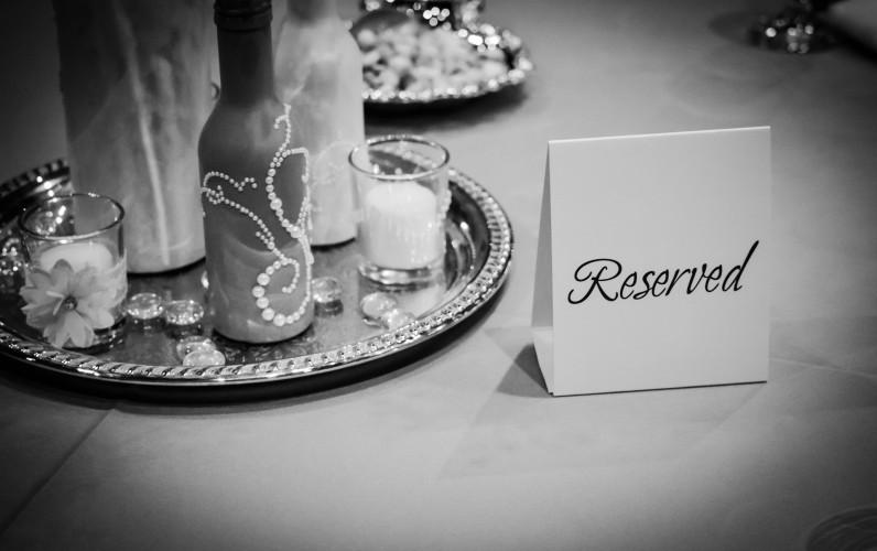 wspaniałe dekoracje ślubne na stół